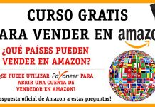 Qué paises pueden vender en Amazon
