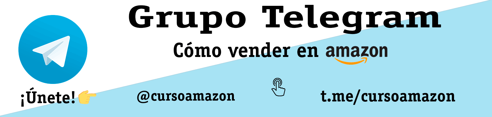 Grupo Telegram del curso para vender en Amazon