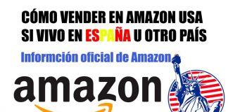 cómo vender en Amazon USA desde España