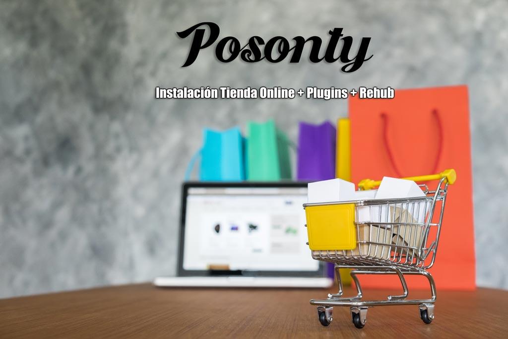 Instalación Tienda Online » Plugins y Theme Rehub (curso posonty)