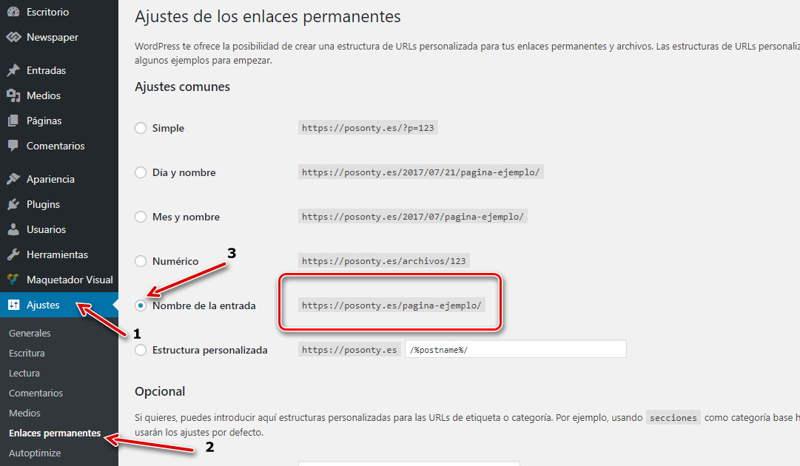configurar-enlaces-permanentes-en-Wordpress