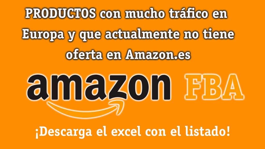 Listados de productos para vender en Amazon recomendados por la propia AMZ